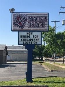 Mack's Barge